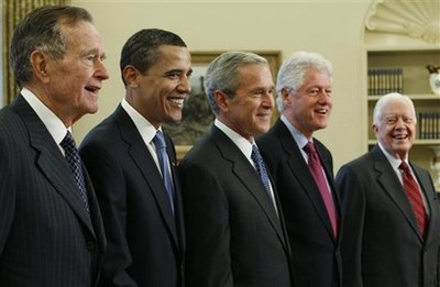 Living American Presidents