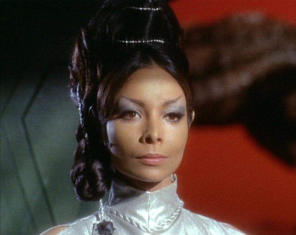 Arlene Martel as T'Pring on Star Trek